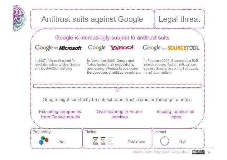 Why could Google die ?