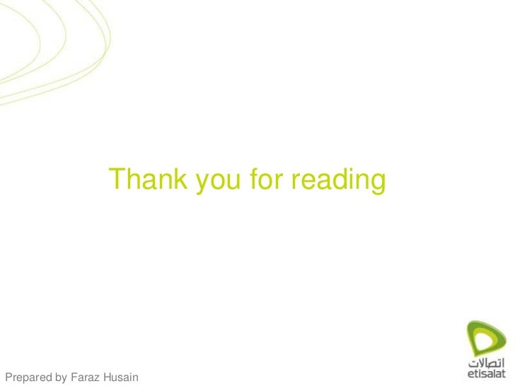 Thank you for reading<br />