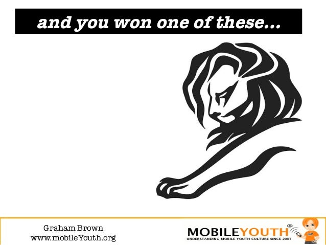 and you won one of these…  Graham Brown!www.mobileYouth.org