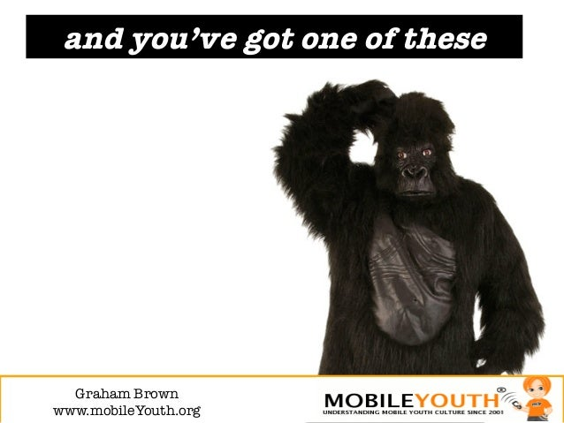 and you've got one of these  Graham Brown!www.mobileYouth.org