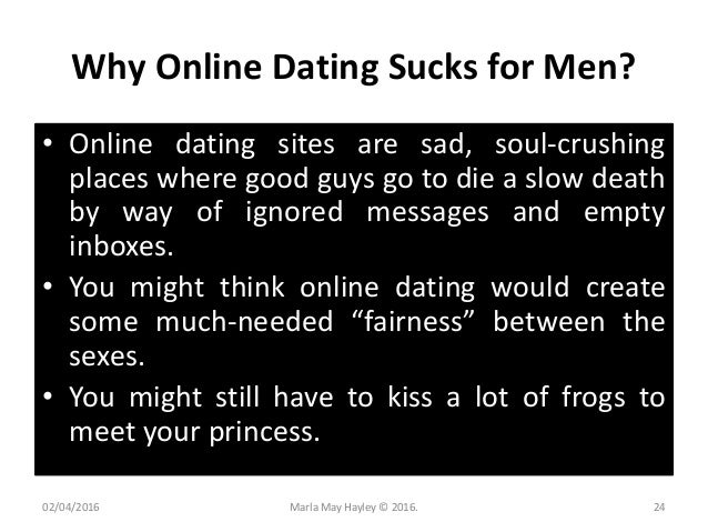 Online dating is hard