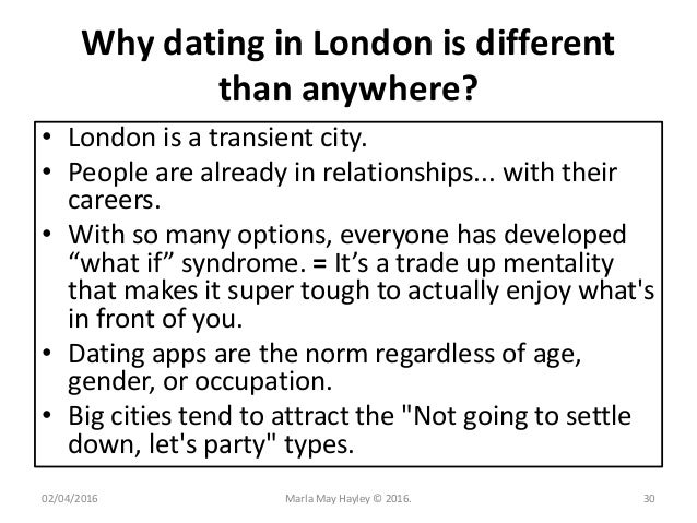 Why Is Dating In London So Hard