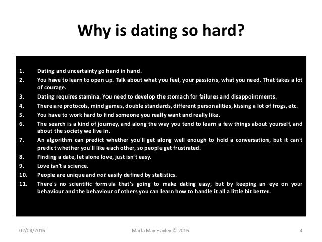 How about we dating blog relationship