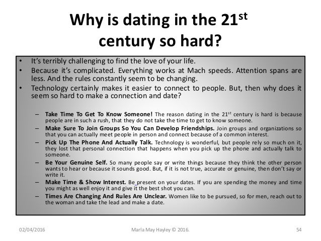 Why Dating Is So Hard Today