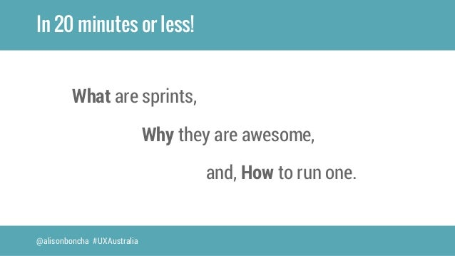 Why design sprints are awesome Slide 3