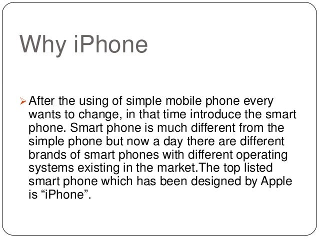 Why Develop An iPhone App For Your Business Slide 2
