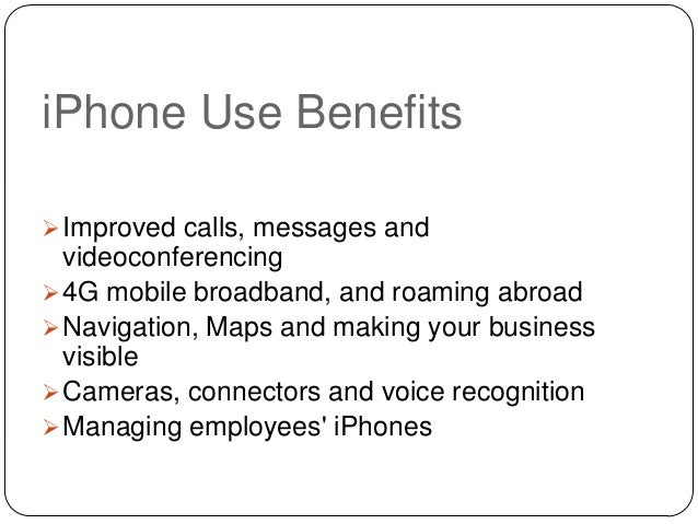 Why Develop An iPhone App For Your Business Slide 3