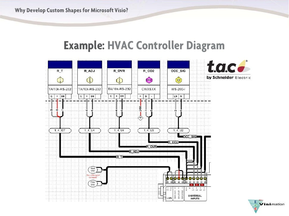 visio hvac diagram