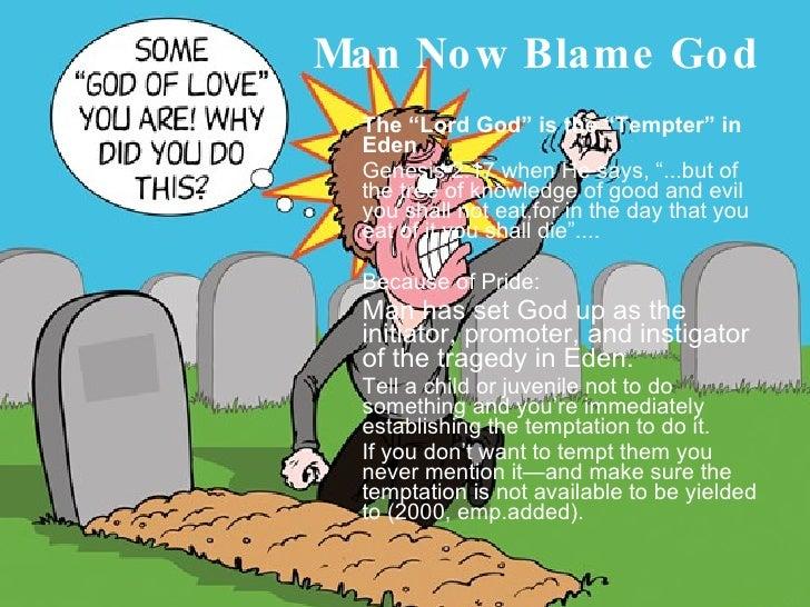 why god created man