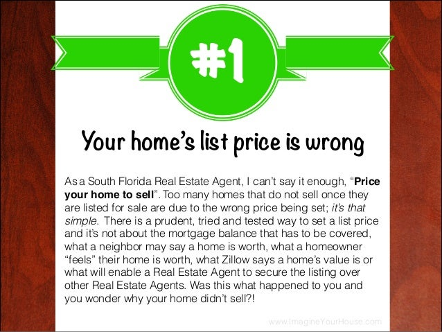 Why didn't your home sell? 4 top reasons exposed here Slide 2