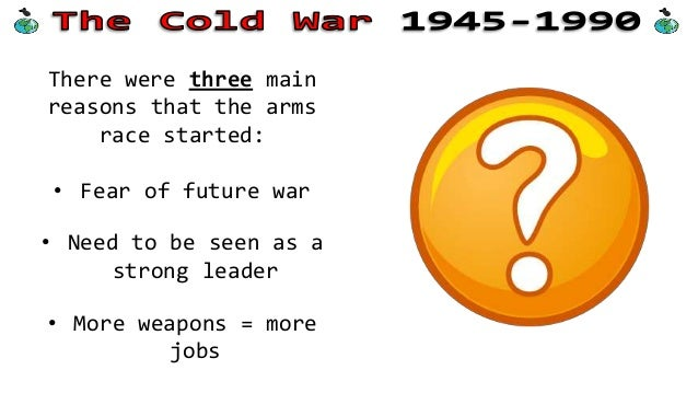 why the cold war started Why did the cold war start a at the end of world war ii, the soviet union and the united states competed for global influence and power b at the start of world war ii, hitler's pact with stalin forced the united states to attack the soviets before they joined the allies.