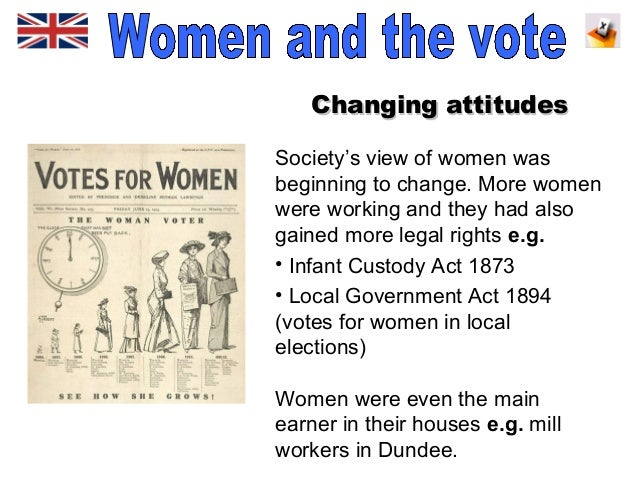 why did women deserve the right to vote Voting rights for women: pro- and anti-suffrage tools email the lesson introduction  women did vote in some states in the early days of our republic.