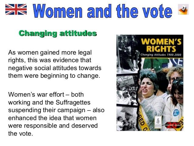 why did some women get the This outstanding lesson has been designed to help students studying the historical controversy surrounding why some women got the vote in 1918 it can be used with.