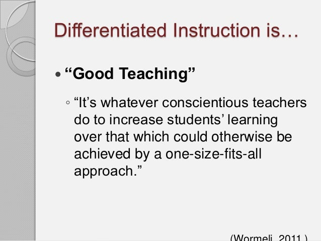 howard gardner differentiated instruction