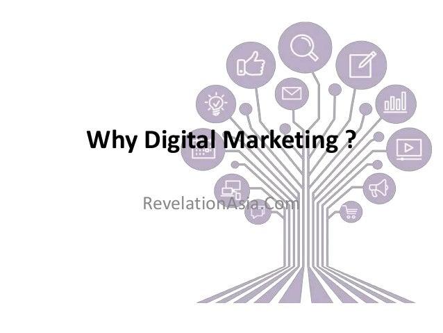 Why Digital Marketing ? RevelationAsia.Com