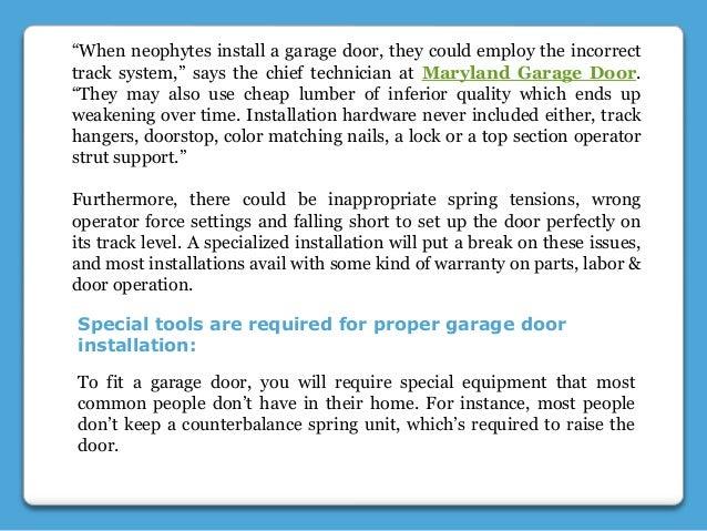 Why Diy Garage Door Installation Is Not A Smart Idea