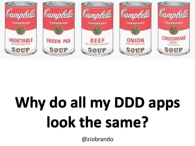 Why  do  all  my  DDD  apps   look  the  same? @ziobrando