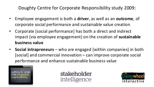 corporate social responsibility why do companies engage in csr Corporate social responsibility (csr) has many advantages that can apply to any  business, regardless of  the potential benefits of csr to companies include.