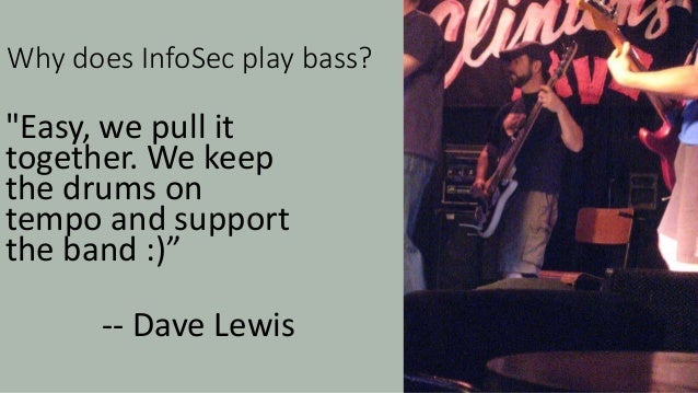 Doubts – do we really play bass? How could I be sure?