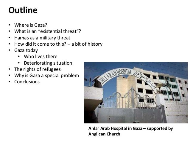 Why Does Israel See Gaza As An Existential Threat