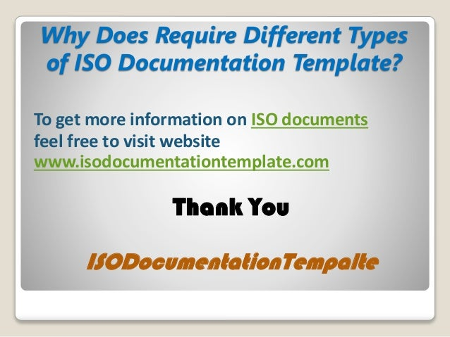 information technology documentation template