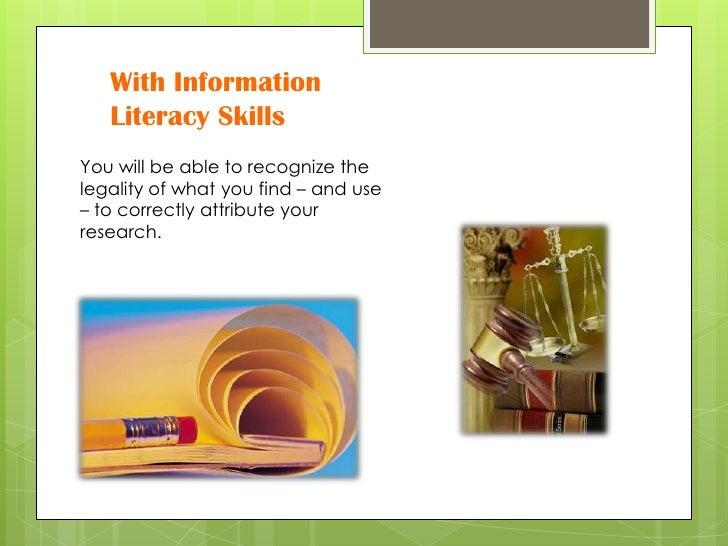 information literacy 5 essay Read this technology essay and over 88,000 other research documents information literacy case study when a massive explosion ripped through a federal building in oklahoma city, the united states jumped to a.