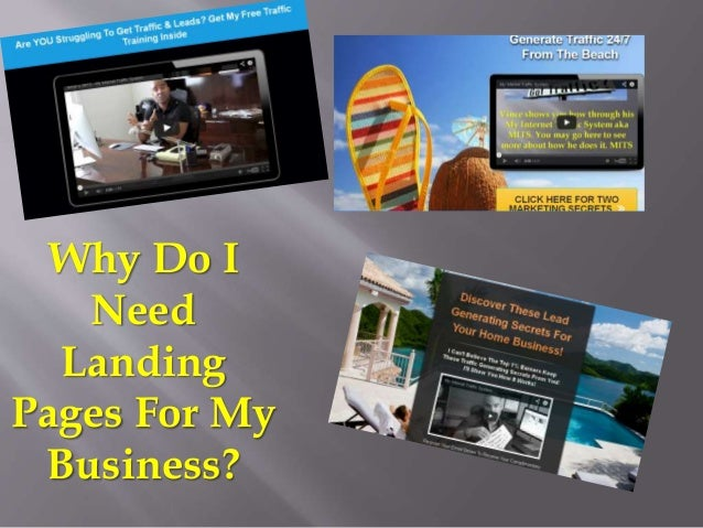 Why Do I Need Landing Pages For My Business?