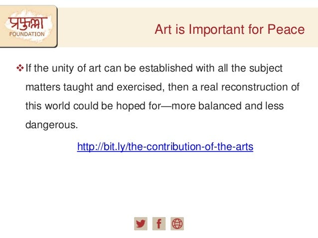 Donate for Art and Promote World Peace Slide 3