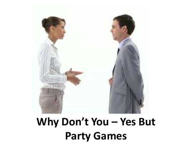 Why Don't You – Yes But Party Games