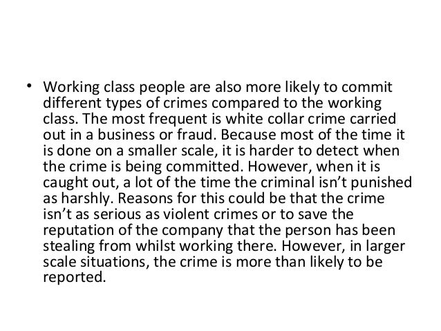 criminology why people commit crimes essay What causes people to commit crimes interdisciplinary criminology gives us a  better understanding from several fields of study of a better understanding of.
