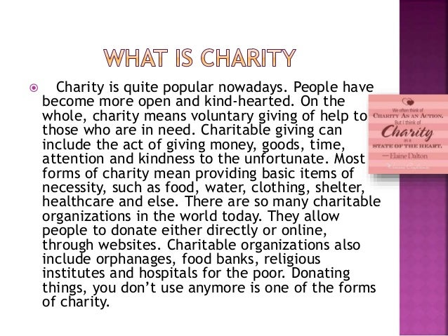 The science behind why people give money to charity