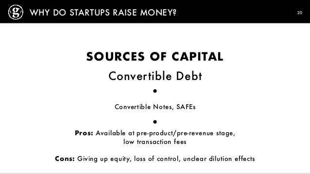 pros and cons of convertible bonds Let's explore the plusses and minuses of equity vs convertible debt vs   disadvantages: the most complex to structure (highest legal bills,.