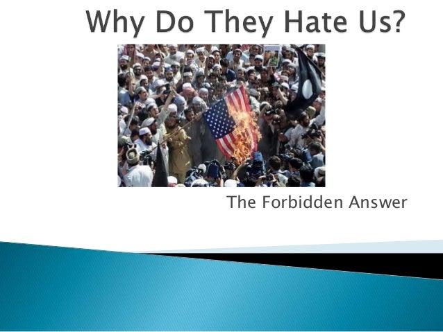 The Forbidden Answer