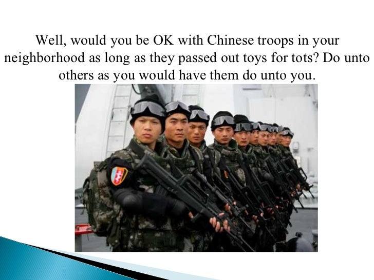 Toys For Tots Slogan : Why do they terrorists hate us
