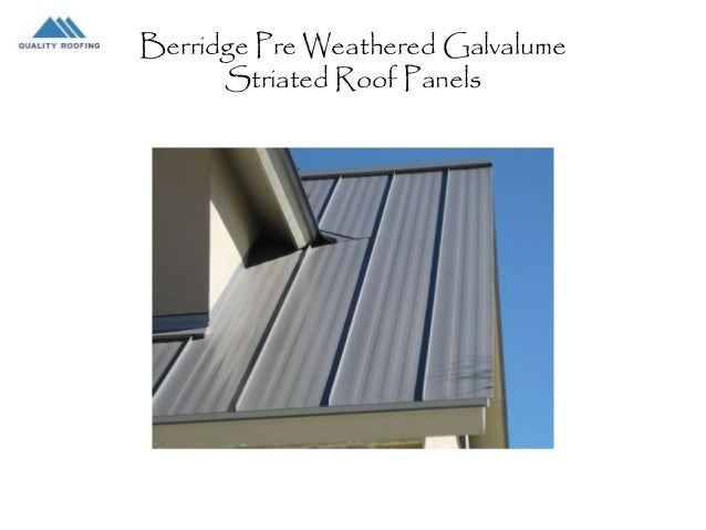 Double Lock Standing Seam Roofs