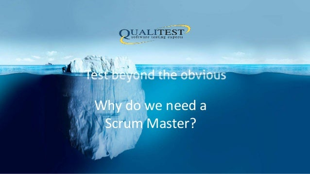 Why do we need a Scrum Master?