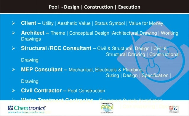 Why Do We Need Swimming Pool Design Consultant My Journal