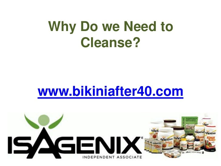 Why Do we Need to Cleanse?www.bikiniafter40.com<br />