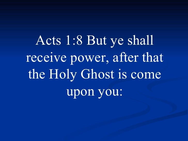 "Holy Ghost Power"" - YouTube"