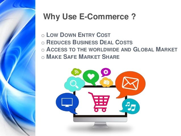 importance of internet in e commerce Electronic commerce, or e-commerce, (also written as ecommerce) is a type of business model, or segment of a larger business model, that enables a firm or individual to conduct business over an.