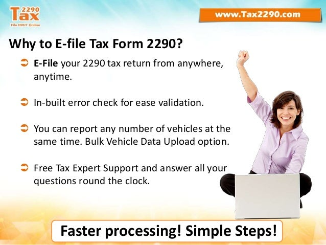 Why e-file Form 2290 Tax returns?