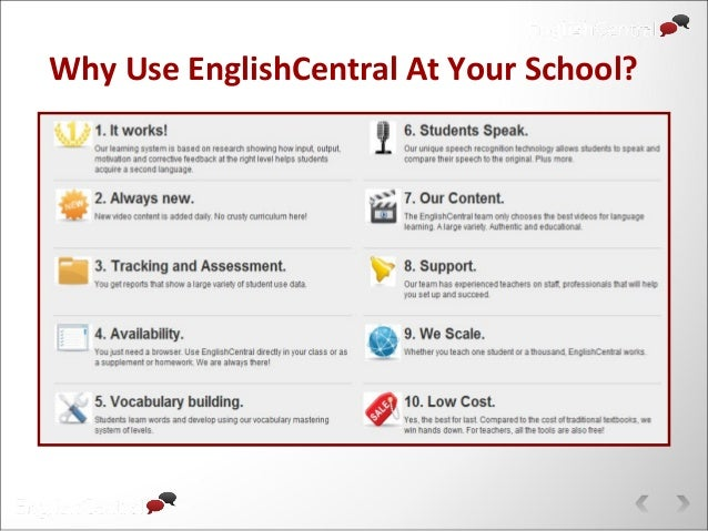 Why Use EnglishCentral At Your School?