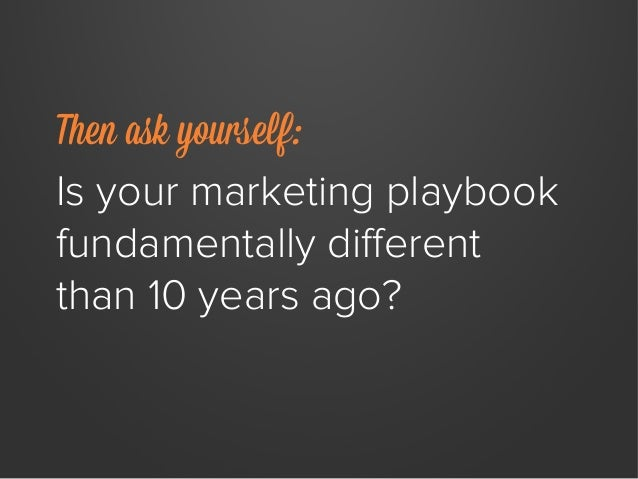 Why Enterprise Companies Need a New Marketing Playbook Slide 3