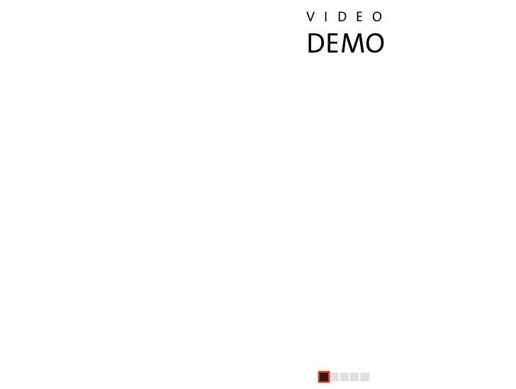 V I D E O                    DEMO     Life after death (by PowerPoint)