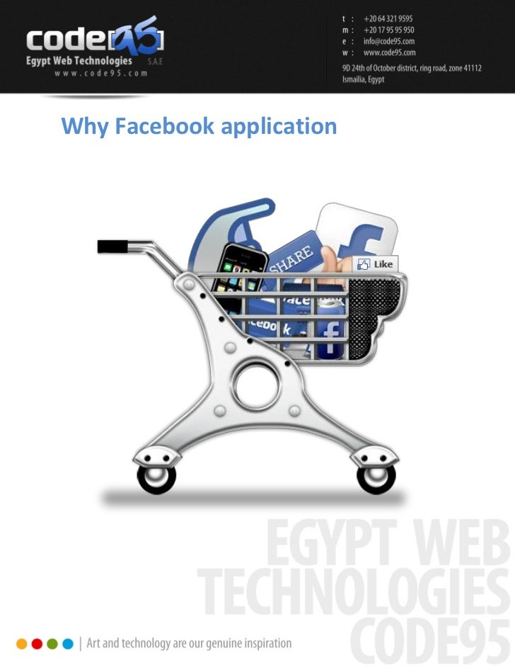 Why Facebook application