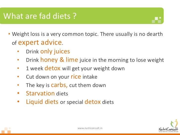 Why fad diets fail Slide 2