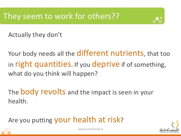 Why fad diets fail Slide 3