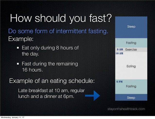 Why fasting is key to burning fat