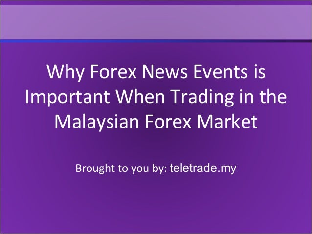 Most important forex news