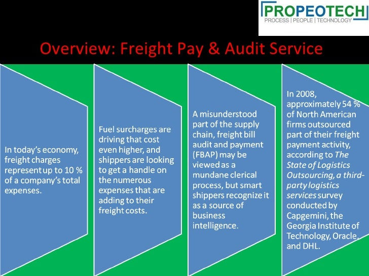 Overview: Freight Pay & Audit Service